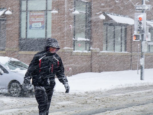 From 70s To Snow Blizzard Pounds Denver