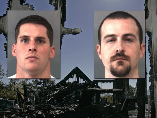 Cristin Smith, left, and Robert Pape have been charged again in the Pinyon Pines murder case.