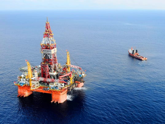 Vietnam China Oil Rig