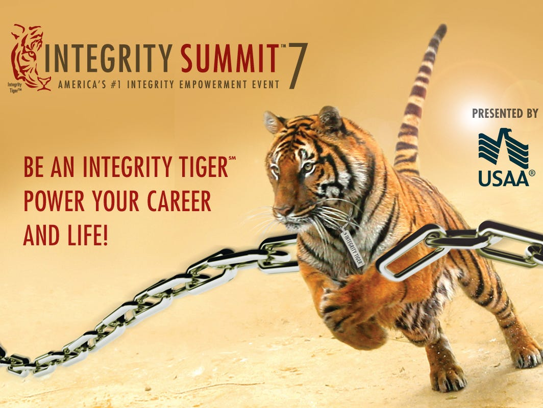 Members receive $10 off tickets to America's #1 Integrity Empowerment Event!