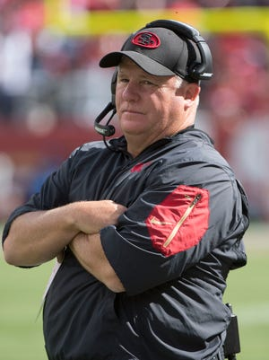 Chip Kelly's 49ers are off to a 1-6 start.