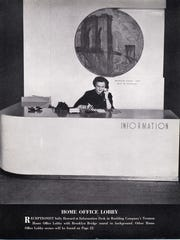 A photo from a 1948 Roebling company magazine showing