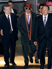 "Kenichi Shinoda, the boss of Japan's largest ""yakuza"""