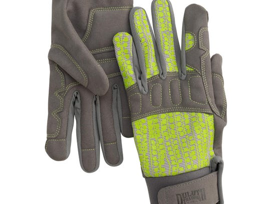 These heavy-duty gloves are perfect for digging, transplanting,