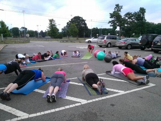 Daily Record Boot Camp Plank