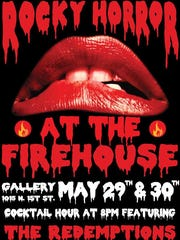 Rocky Horror at the Firehouse Poster