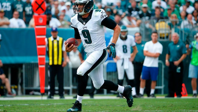 Philadelphia Eagles quarterback Nick Foles, who appeared in one game while at Michigan State during the 2007 season, is considered a former Spartan by Mark Dantonio.
