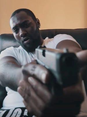 "Detroit rapper Phillip Peaks, aka ""Team Eastside Peezy."""