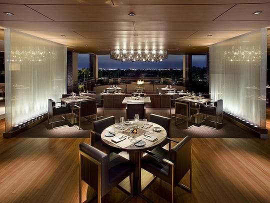The dining area at J&G Steakhouse at The Phoenician will change with the opening of a new restaurant June 2018.