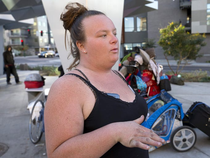 Sarah Decker, 32, is still living on Roosevelt Row