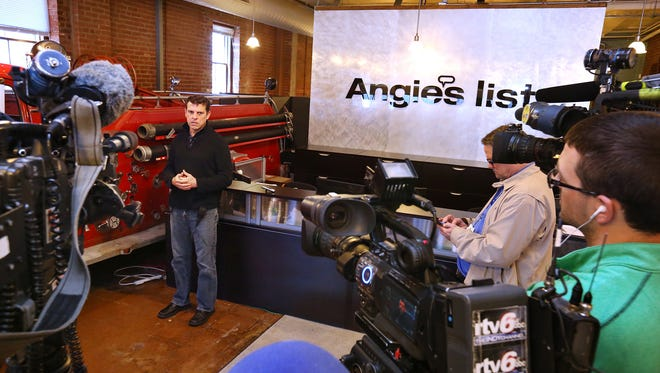 Angie's List CEO Bill Oesterle is among CEOs calling for modifying Indiana's 'religious freedom' legislation.
