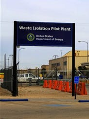 The Waste Isolation Pilot Plant near Carlsbad, N.M.,