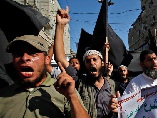 Mideast Palestinians Gaza Jihadis