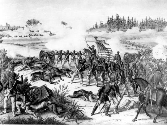 Battle of Olustee during the Civil War