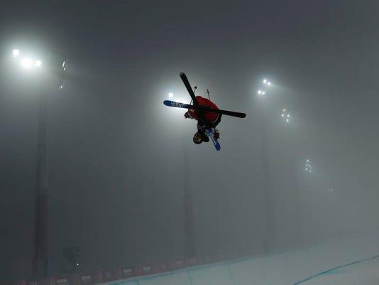 APTOPIX Sochi Olympics Freestyle Skiing Men