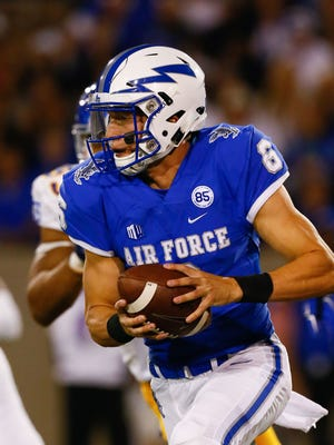 Air Force quarterback Nate Romine