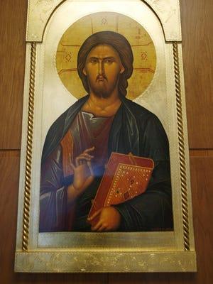 An icon of Jesus Christ the Teacher.