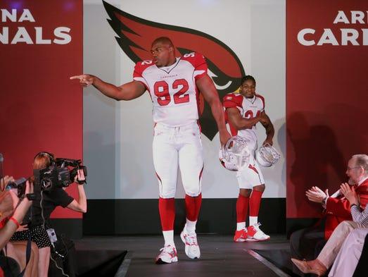 NFL Jersey's Men's Arizona Cardinals Bradley Sowell Pro Line Big & Tall Team Color Jersey