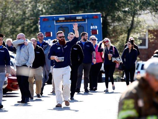 Lester Glenn evacuation