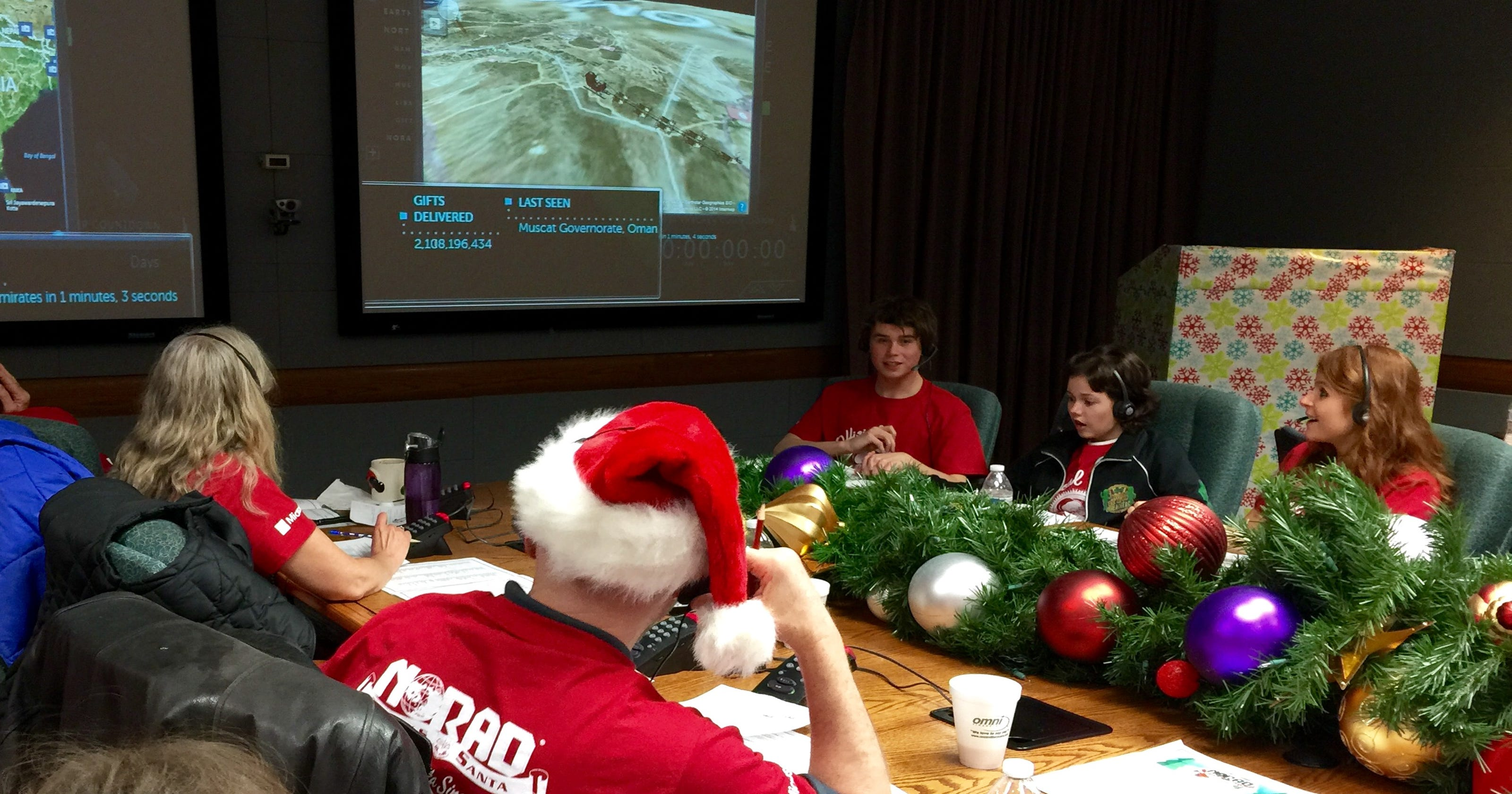 Santa\'s on his way! NORAD\'s tracking his sleigh