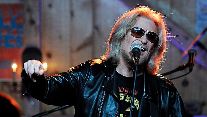 Daryl Hall performs with Hall and Oates at his music venue and restaurant in Pawling, Daryl's House.