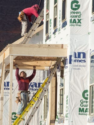 Some economists expect construction payrolls to increase more sharply this year.