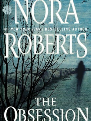 "Bookcover to ""The Obsession"" by author Nora Roberts"