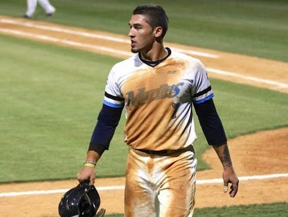 Roberson alum Dominick Cammarata is playing this summer for the Morehead City Marlins.