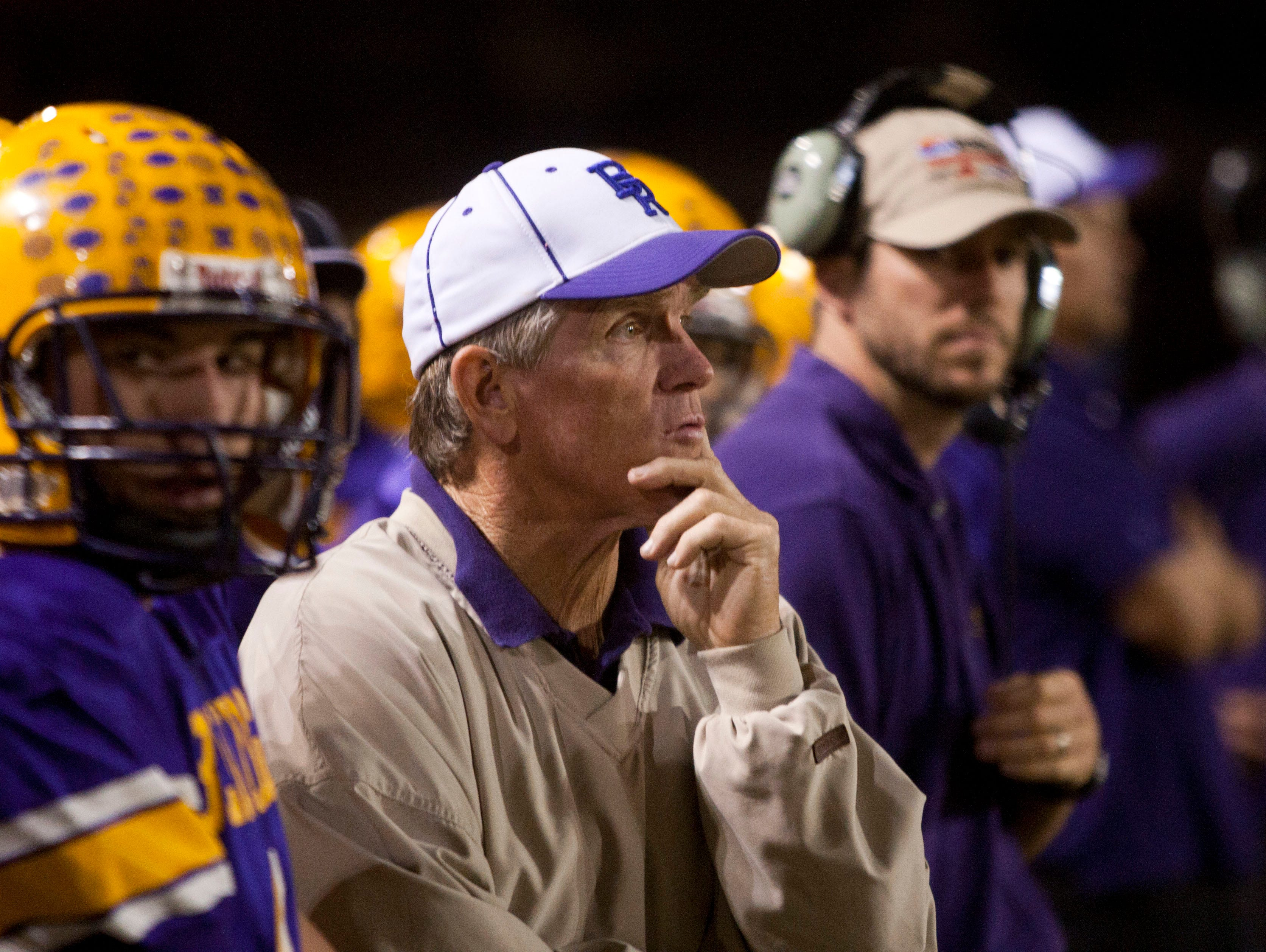 Paul Moro, who will be starting his second year at the San Tan Valley school since leaving a rich legacy at Lakeside Blue Ridge, has 325 career wins.