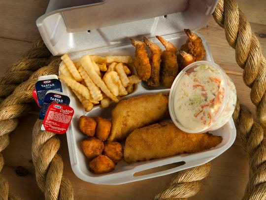 Fish fries from Davies Seafood are a particular favorite among customers.
