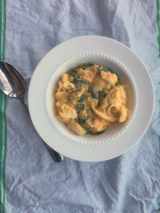 Butternut Squash Tortellini Soup
