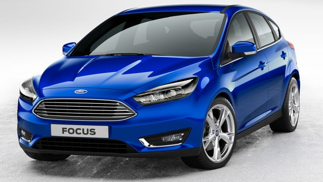 Ford Focus is getting a major refresh of its looks for 2015