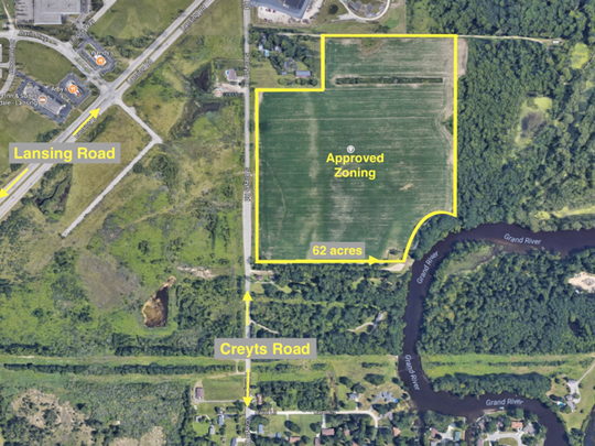 Here's a look at the site for Harvest Park, a 130-acre