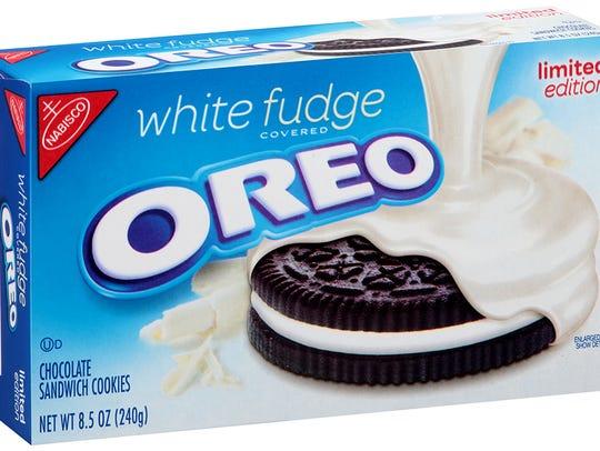 White Fudge Covered Oreo.