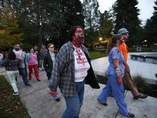 Zombies gather for annual walk at state Capitol