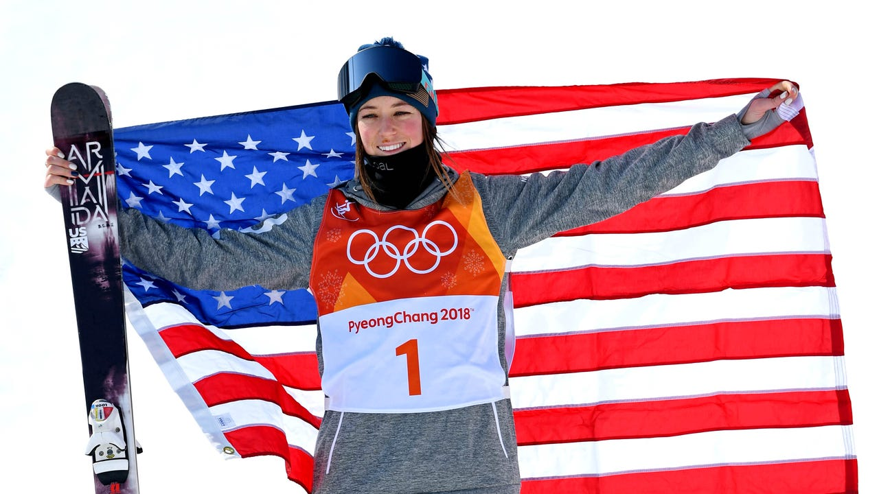 Flags play an integral role at the Olympics as symbols of national pride. (Feb. 21)