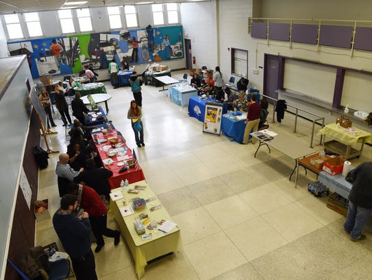 Organizations at the Dutchess Project Connect held