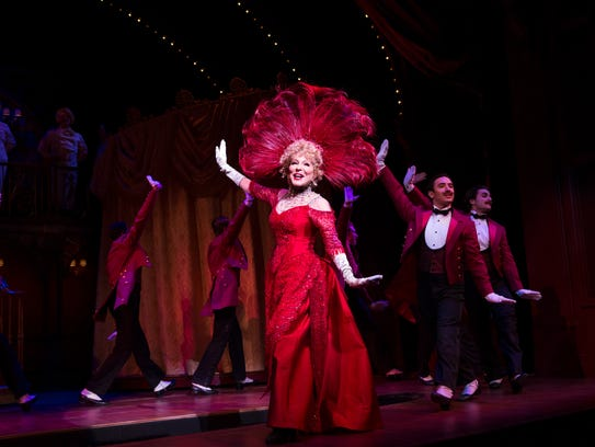 """Bette Midler is starring in """"Hello, Dolly!"""""""