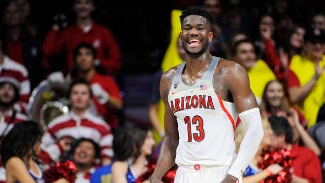 Deandre Ayton has been a beast for the Arizona Wildcats.