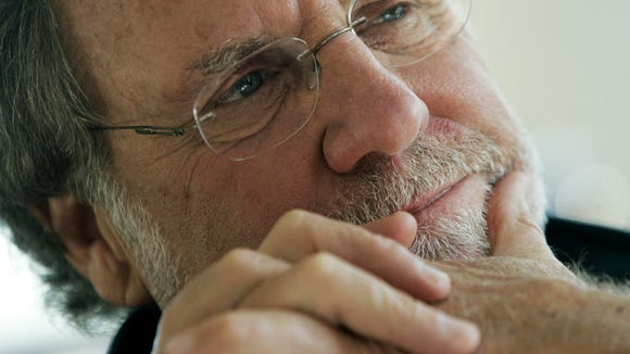 Former Gov. Jon Corzine hasn't made many public appearances since the 2011 bankruptcy of the MF Global brokerage he headed, but he'll speak to Fairleigh Dickinson University students tonight in Madison. (AP Photo/Rich Schultz, File)
