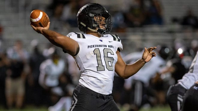 Centennial transfer Jaylen Gilbert and Pickerington North will play host to Westland on Friday, Sept. 11.