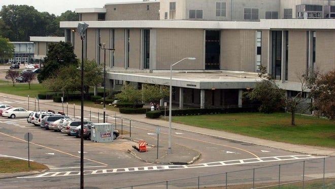 An undated file photo of Brockton High School.