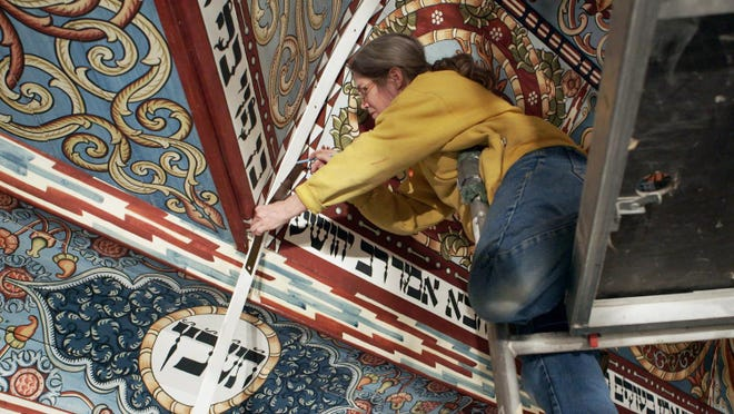"""Raise the Roof,"" a film about the reconstruction of an 18th century Polish wooden synagogue, will be shown next week."