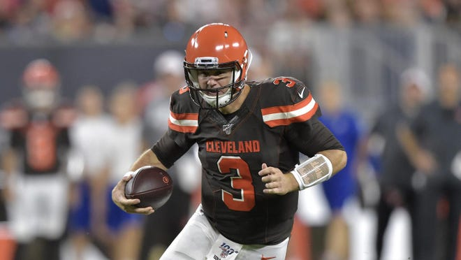 The Dallas Cowboys will sign former Lake Travis and Texas quarterback Garrett Gilbert according to multiple reports on Monday. Gilbert had been a part of the Cleveland Browns practice squad, but Dallas needs quarterback depth due to starter Dak Prescott's season ending injury suffered on Sunday.