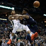 Bucks rally from 20 down to beat Timberwolves 102-96