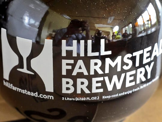 Beers produced by Hill Farmstead Brewery in Greensboro have been called the best in the world. Beer lovers come from around the country to line up and have their growlers and bottles filled.