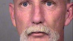 Phoenix firefighter Jeffrey Wilson was arrested in