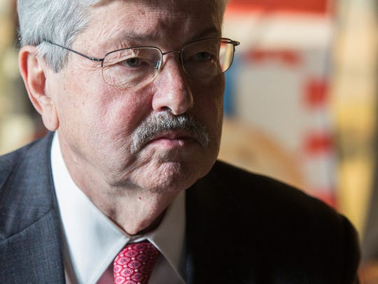 U.S. Ambassador to China, Terry Branstad sits down