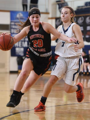 Sarah Minchin (20) has helped bail out Northern Highlands since Madison Grossman was hurt.