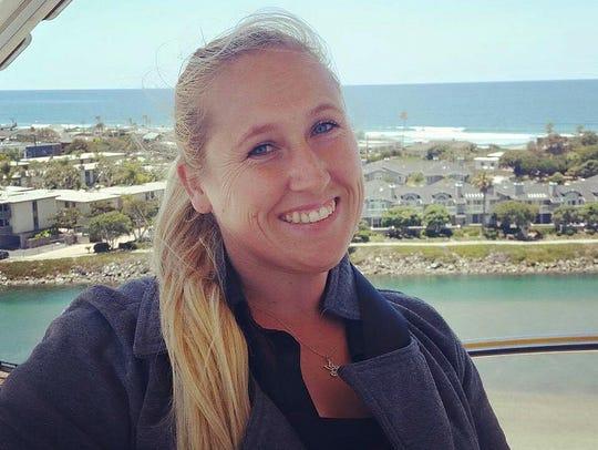 Carrie Barnette, 34, from Riverside, Calif., was killed